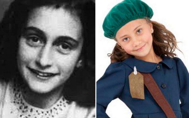 Judíos ofendidos por venta de disfraz de Ana Frank para Halloween