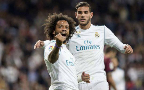 Real Madrid vence 3-0 a un modesto Eibar en Liga de España
