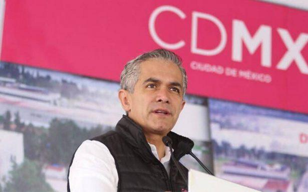 Gobierno enfrenta reconstrucción con Fondo de la Ciudad de México: Mancera