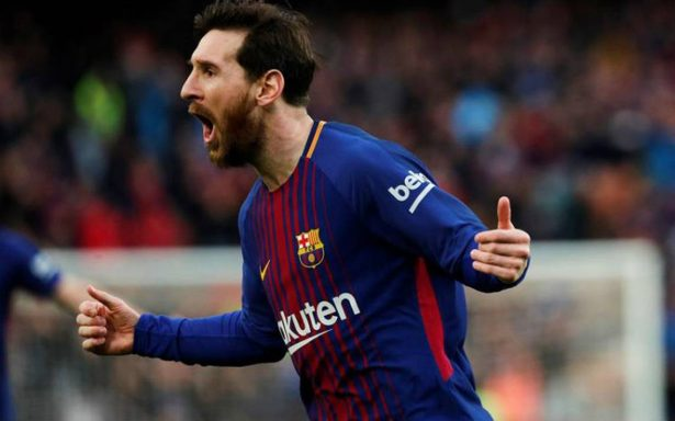 Con gol de Messi, Barcelona gana al Atlético y acaricia el titulo