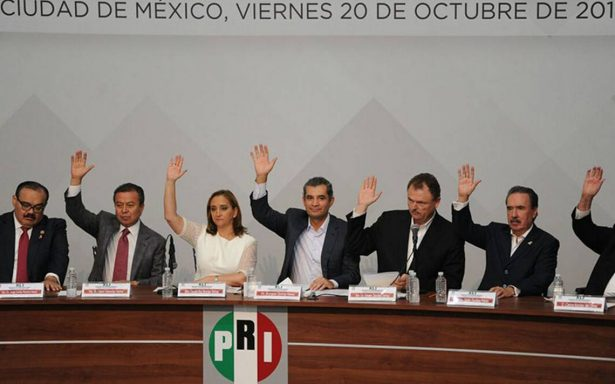 Candidato presidencial del PRI sí se definirá en convención de delegados
