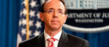 El supervisor de la trama rusa, Rod Rosenstein, abandona su cargo: prensa
