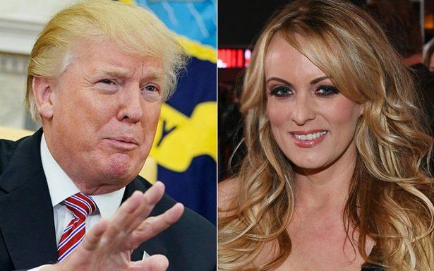 Actriz porno demanda a Trump al no respetar acuerdo de confidencialidad