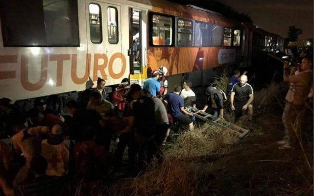Choque de trenes deja al menos 21 heridos en Costa Rica