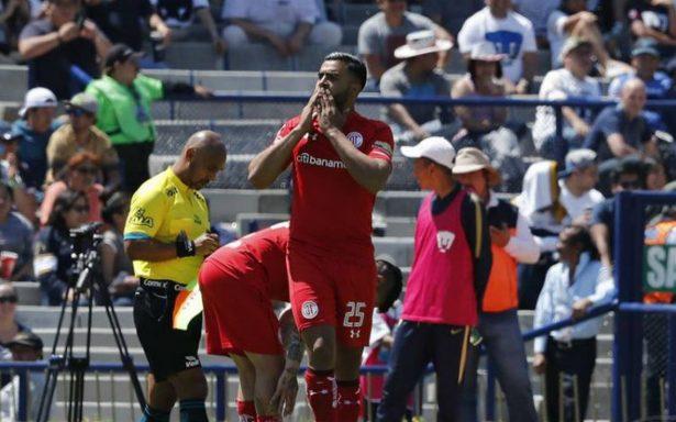 Pumas sigue en picada, pierde contra Toluca con un autogol