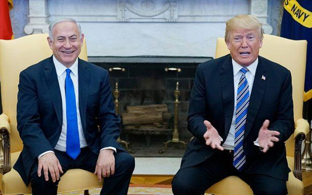 Trump viajaría en Mayo a Israel para inaugurar embajada de EU