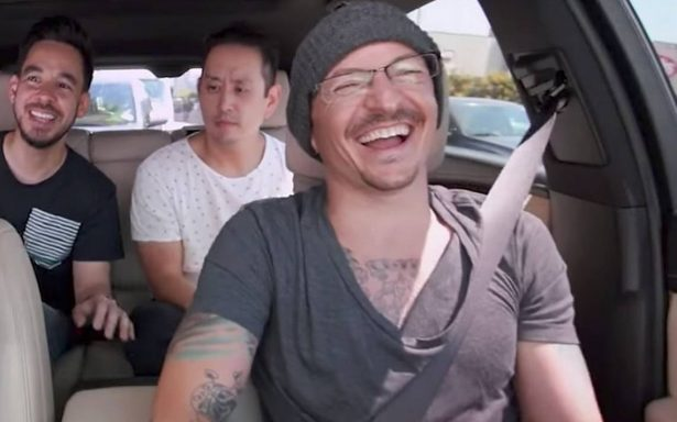 "En honor a Chester Bennington, Linkin Park comparte su ""Carpool Karaoke"""