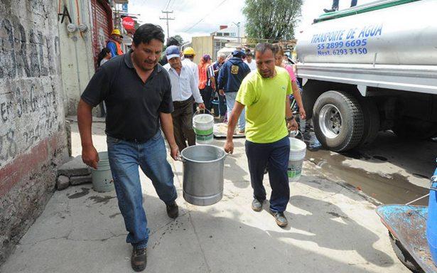 Cierran válvulas de la red de agua en la CDMX con fines políticos: Mancera