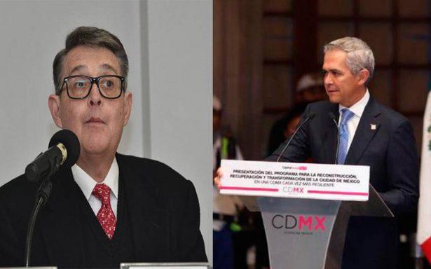 Pacto de civilidad genera gresca entre Mancera y Morena