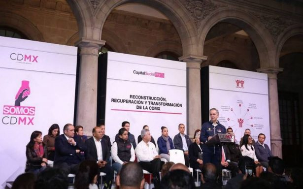 CDMX accederá al Fondo para Infraestructura Social para atender a los más afectados por sismo