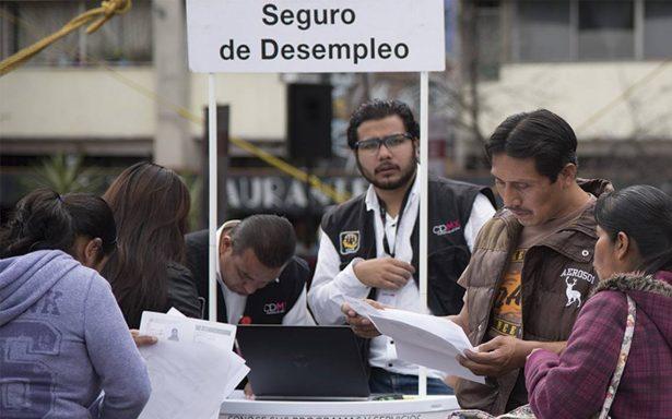 Tasa de desocupación baja a 3.2 % en marzo: INEGI