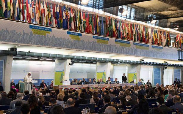 Guerras y clima, causas del hambre: Papa Francisco