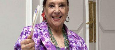 Último adiós a Nati Mistral, una voz única para recitar