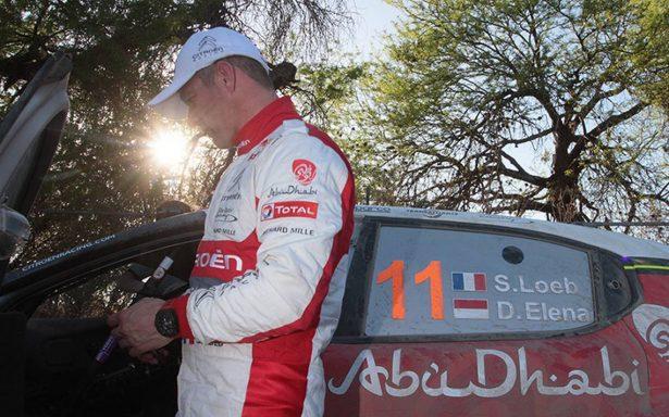 Sebastien Loeb pierde oportunidad de sumar siete conquistas del Rally Guanajuato México WRC