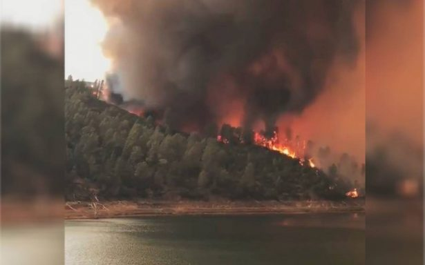 [Video] Incendios forestales en California provocan evacuación de cientos de personas