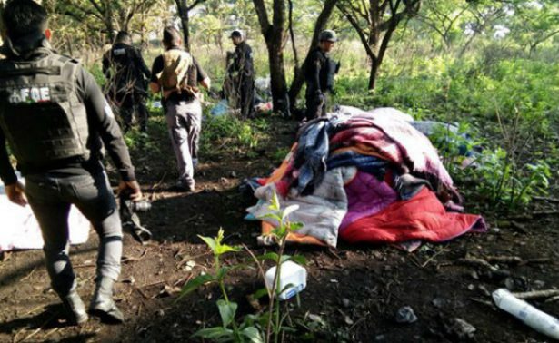 A prisión preventiva, detenidos en campamento clandestino en Jalisco