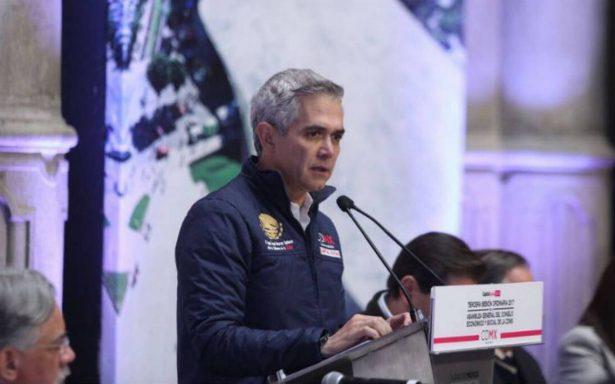 Mancera desmiente rumores, no renunciará al Gobierno CDMX este viernes