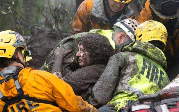 Feroz tormenta en California deja 13 muertos por deslaves