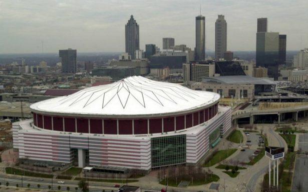 Demuelen el Georgia Dome, sede de los Juegos Olímpicos de Atlanta 1996