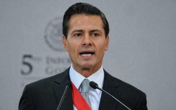 Peña Nieto dio palabras huecas y falsas en Informe: PRD