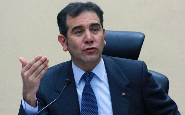 Meterse con el INE es meterse con la sociedad, afirma Córdova