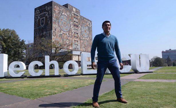 Yair Piña, estudiante de la UNAM, se prepara para misión en Marte