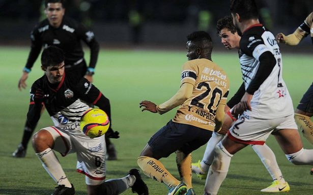 Pumas perdió ante Lobos BUAP en la Copa MX