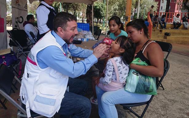 Pegan enterovirus a niños; sin vacunas
