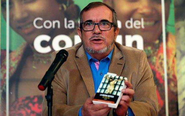 Timochenko, líder de las FARC, renuncia a candidatura presidencial por problemas de salud