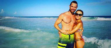 Sebastián Rulli y Angelique Boyer disfrutan de su amor en la playa