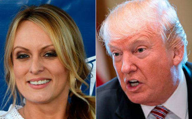 Estrella porno dispuesta a devolver dinero para hablar sobre su presunto romance con Trump