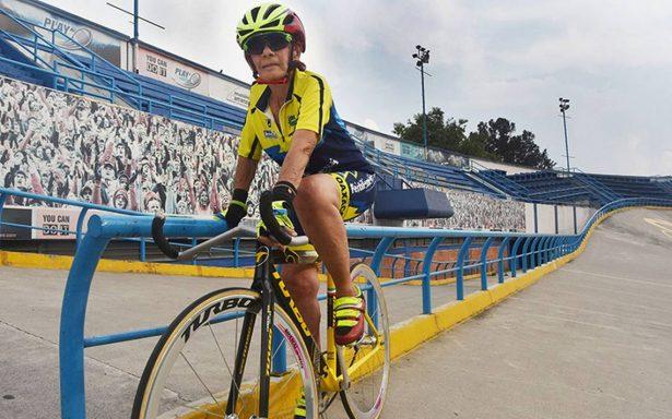 """La mexicana Carmen """"Popis"""" Muñiz, símbolo del ciclismo"""