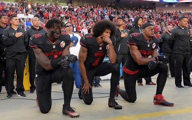 Una falta de respeto que NFL no obligue a jugadores a ponerse de pie durante himno: Trump