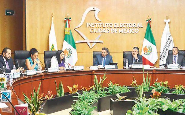 IECM brinda más tiempo a candidatos para entrega de apoyo ciudadano