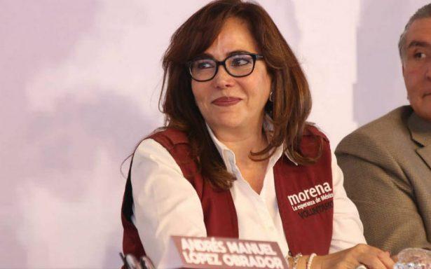 Yeidckol Polevnsky permanecerá un año más como presidenta de Morena