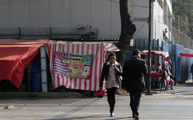 Delegación Cuauhtémoc se compromete a terminar con ambulantaje en Hospital General
