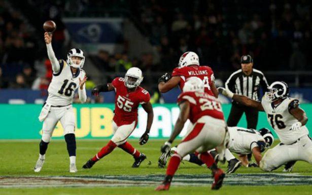¡Los Rams, de miedo! Apalean a los Cardinals en Londres