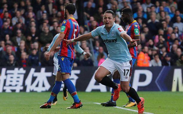 En empate del West Ham, Chicharito se reencuentra con el gol