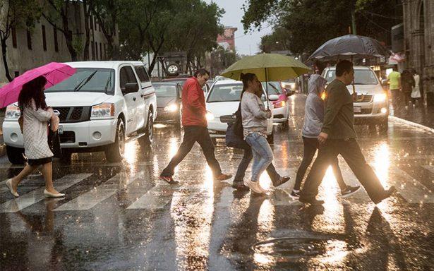 ¡No olvides tu paraguas! Pronostican lluvia y posible granizo por frente frío 35