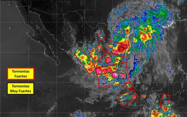 ¡Aguas! que las lluvias en el país seguirán por ondas tropicales 5 y 6