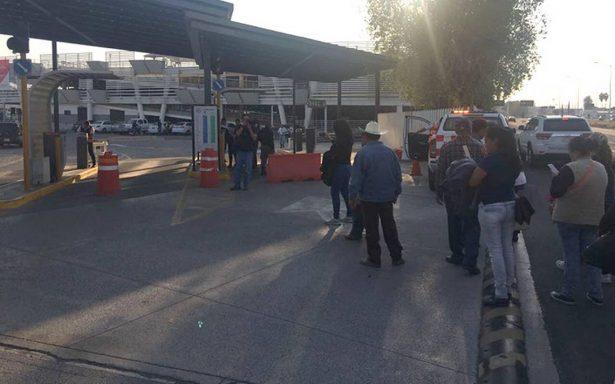 Desalojan a ejidatarios del Aeropuerto Internacional de Guadalajara