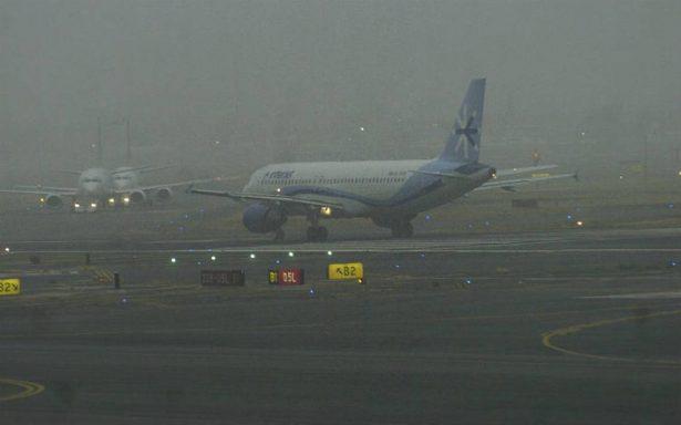 Se desvanece banco de niebla en zona del aeropuerto capitalino
