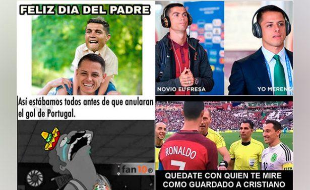 México empata contra Portugal pero gana en duelo de memes