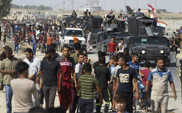 Iraquíes arrebatan la ciudad petrolera de Kirkuk a los kurdos