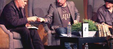 Ray Loriga presentó su libro Rendición