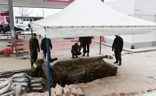 En Grecia desactivan bomba de la Segunda Guerra Mundial