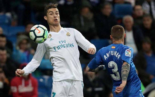 Con goles de Cristiano y Bale, Real Madrid liquida al Getafe en casa