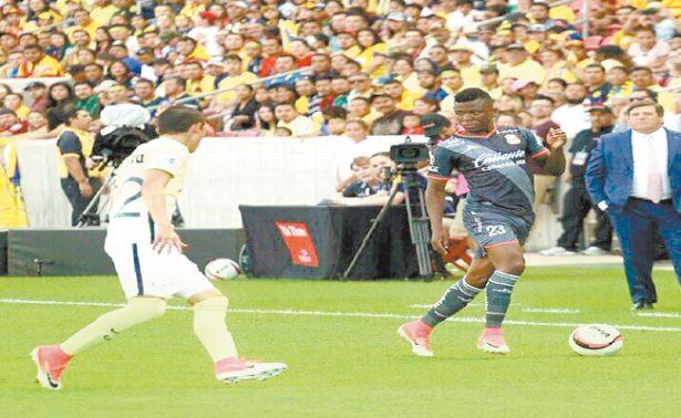 Las Águilas cayeron ante Morelia en partido amistoso