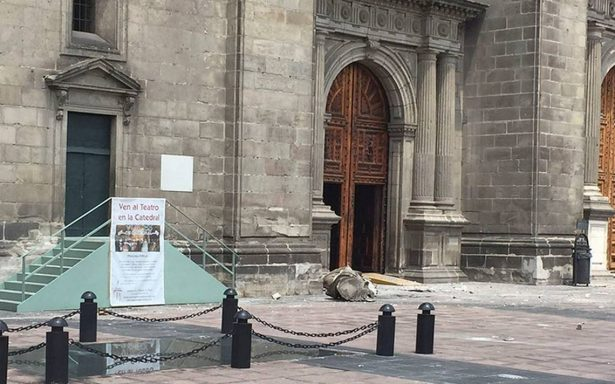 Secretaría de Cultura niega que Catedral Metropolitana esté en peligro de derrumbe