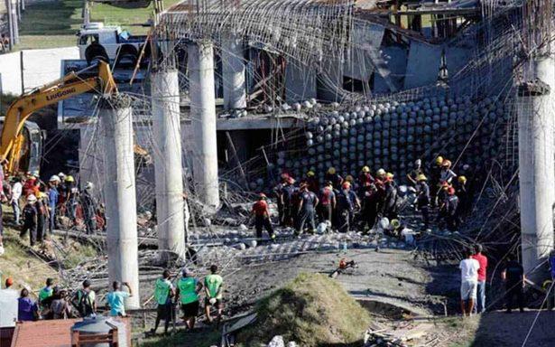 Ascienden a seis los muertos por derrumbe de muro en Argentina